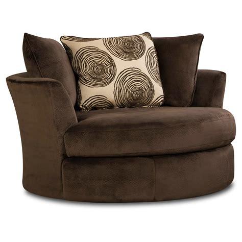 Rayna Swivel Barrel Chair
