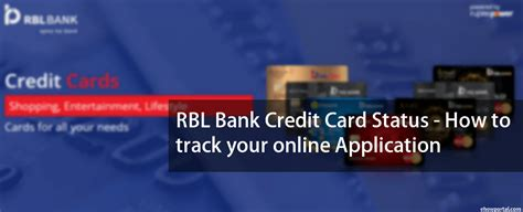 Credit Card Apply Status Icici Rbl Bank Credit Card Status Track Your Online Application
