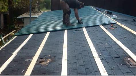 Re Roofing Garage Diy