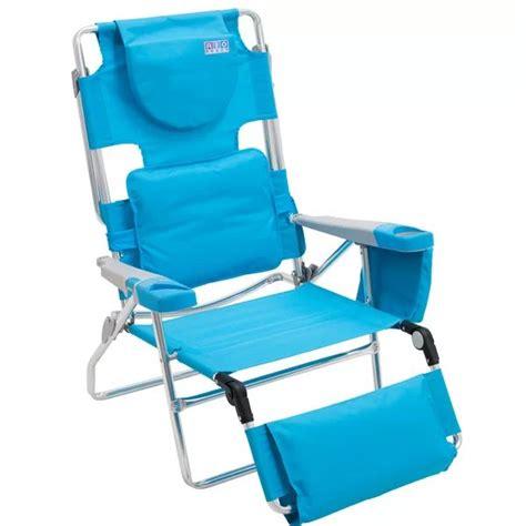 Read-Through Reclining Beach Chair