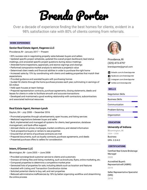 stunning career objective for real estate resume gallery simple