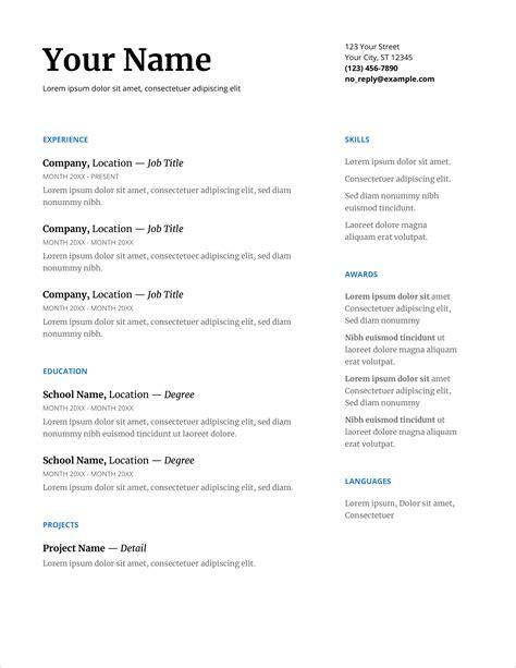 real free online resume builder resume builder o free resume builder - Real Free Resume Builder