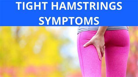 reason for tight hamstrings symptoms of pneumonia
