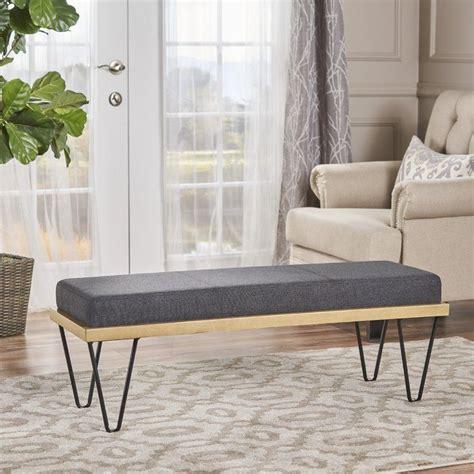 Reavis Upholstered Bench