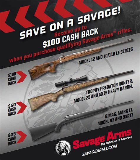 Savage-Arms Rebate Coupon Savage Arms.
