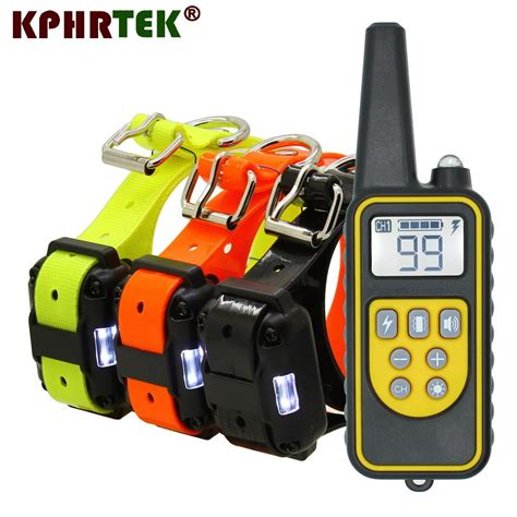 Rechargeable Dog Training Collars