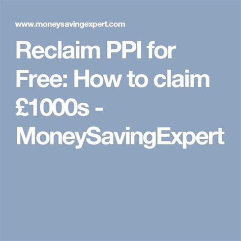 Egg Credit Card Ppi Telephone Number Reclaim Ppi For Free Moneysavingexpert