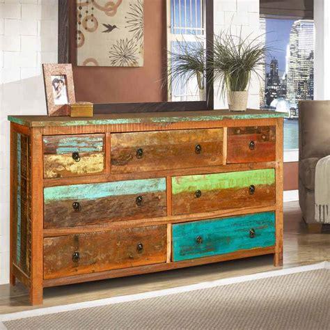 Reclaimed Wood Dresser Cheap