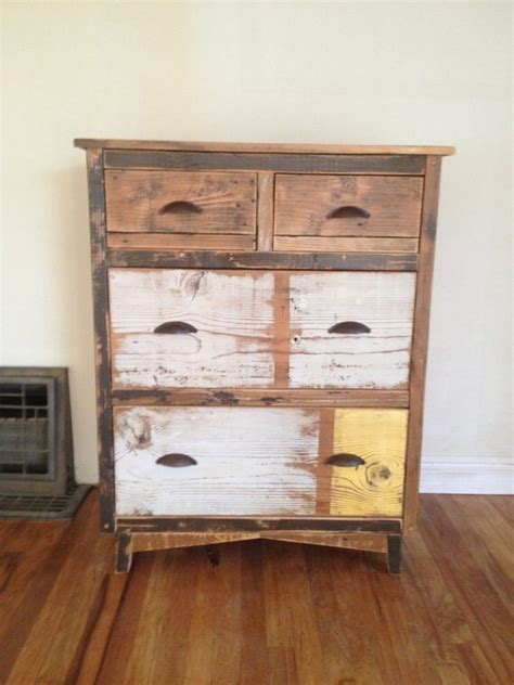 Reclaimed Wood Dresser Etsy