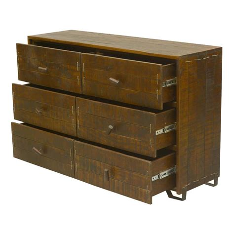 Reclaimed Wood Dresser Modern