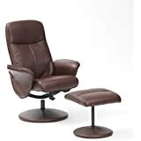Recliner Arm Covers Protectors Turin Swivel Recliner Chair Footstool Betterlife From