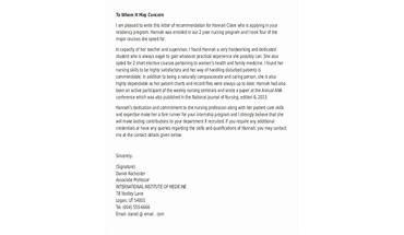 bewerbungsschreiben erstellen nach din gliederung und stil recommendation letter for nursing grad school - Din Bewerbung