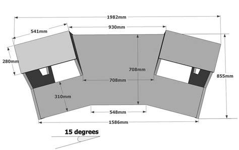 Recording Studio Table Plans