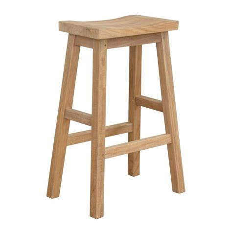 Rectangle Teak Stool