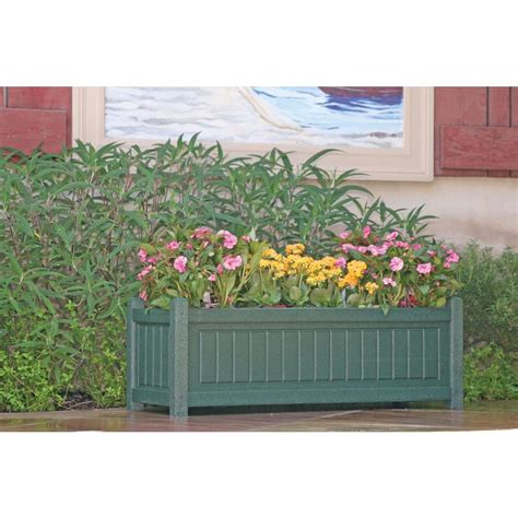 recycled plastic planter boxes
