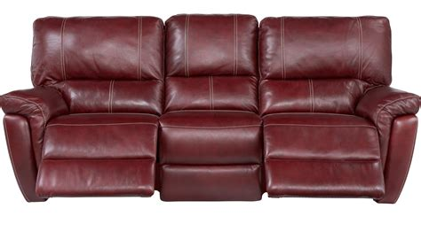 Red Bluff Leather Reclining Loveseat