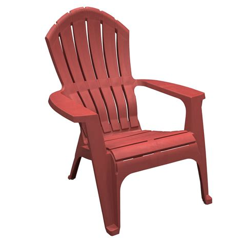 Red Resin Adirondack Chairs