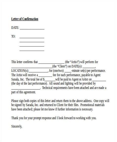 Reference Letter Confirmation Of Re Submitting Confirm The Receipt Of A Resume Contract Bid Or