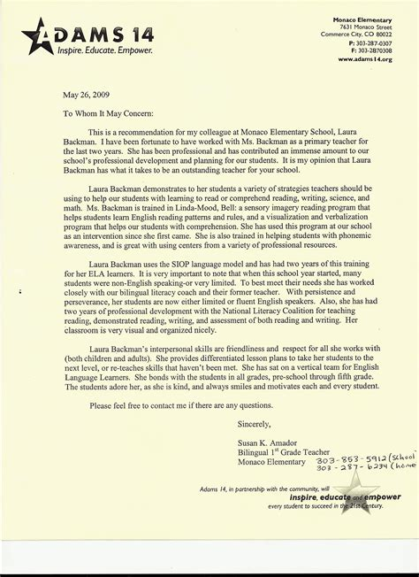 Reference Letter Template University Free Letter Of Recommendation Template And Format
