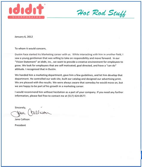 Reference Letter Template Student Scholarship Free Reference Letter Template Eduers