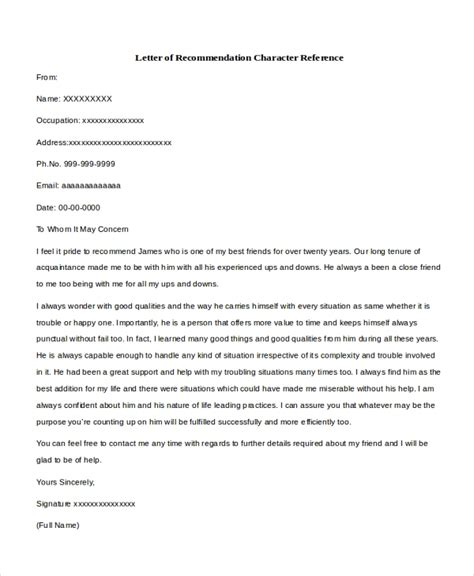 Reference Letter For A Teacher Example Influential Example Character Reference Letter For Court