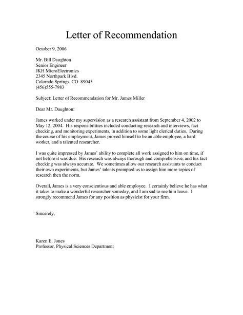 Reference Letter Template University Recommendation Letter Template University Uw Bothell