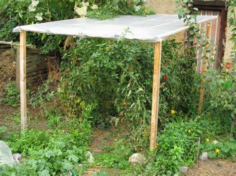 Regenschutz Garten
