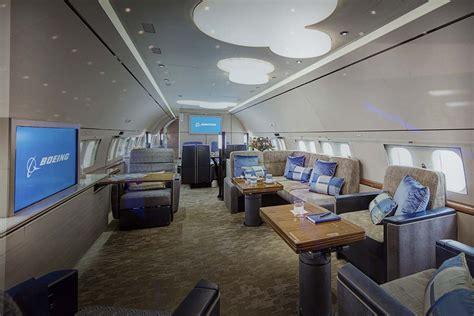 Regeringsvliegtuig Interieur
