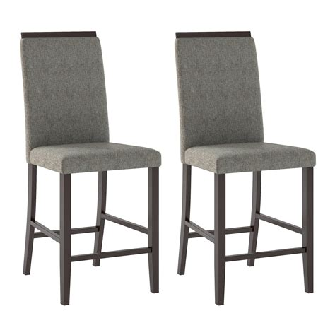 Reich Counter Height Upholstered Dining Chair (Set of 2)