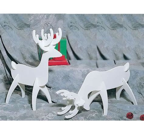 Reindeer Woodworking Plans