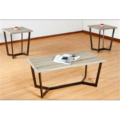 Reisman 3 Piece Coffee Table Set By Simmons Casegoods