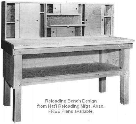 Reloading Bench Plans Free