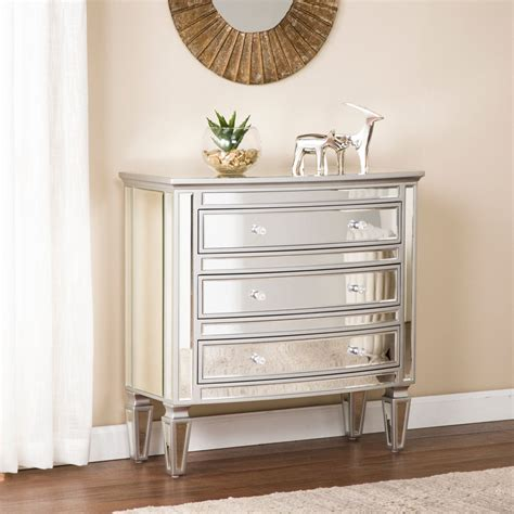 Remi Mirrored 7 Drawer Cabinet