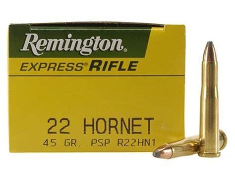 Ammunition Remington 22 Hornet Ammunition.