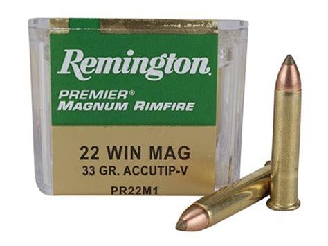 Ammunition Remington 22 Mag Ammunition.