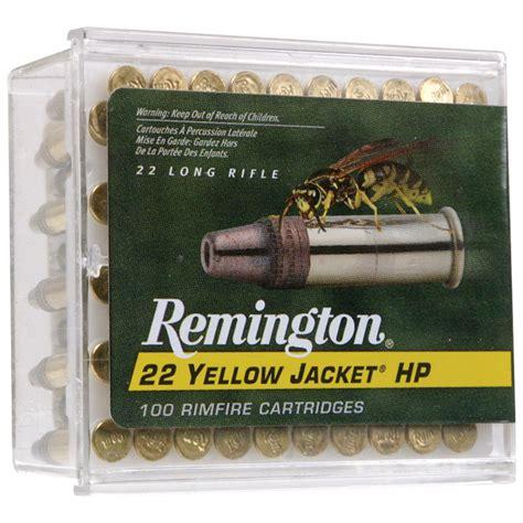 Ammunition Remington 22 Yellow Jacket Lr Rimfire Ammunition.