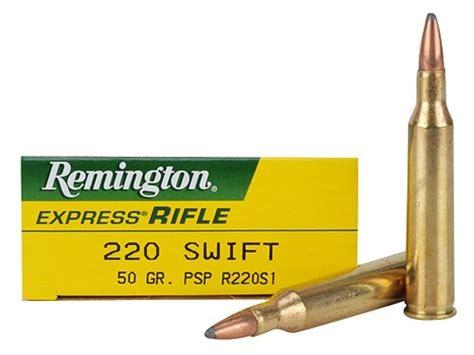 Ammunition Remington 220 Swift Ammunition.
