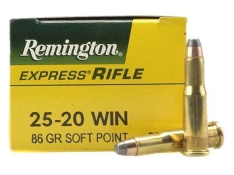 Ammunition Remington 25-20 Ammunition.