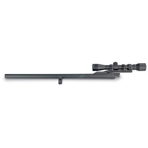 Rifle-Scopes Remington 870 Rifled Slug Barrel With Scope.