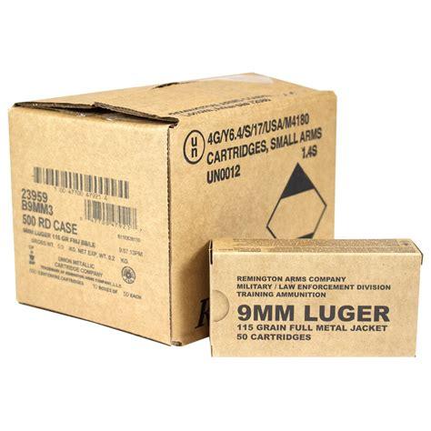 Ammunition Remington Military Training Ammunition Specs.