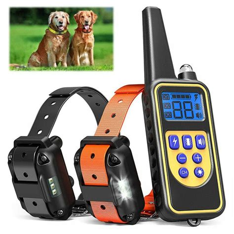 @ Remote Control Dog Training Shock Collar Great.