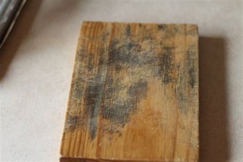 remove mold from wood cutting board