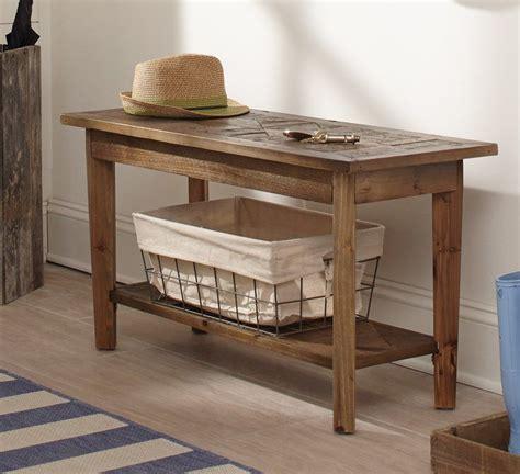 Renewal Wood Storage Bench