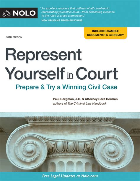Court Appointed Lawyer Greenville Nc Representing Yourself In A Civil Case A Guide For The Pro