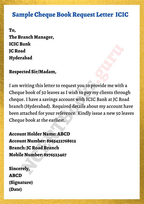 Request Letter For Bank Account Details Bank Account Error Correction Letter Sample Template