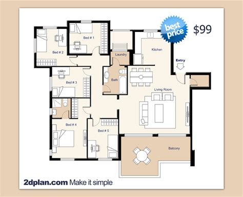 Residential Home Building Plans