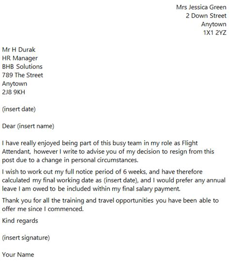 resignation letter sample cabin crew cabin crew resignation letter sample cover letter for cabin crew