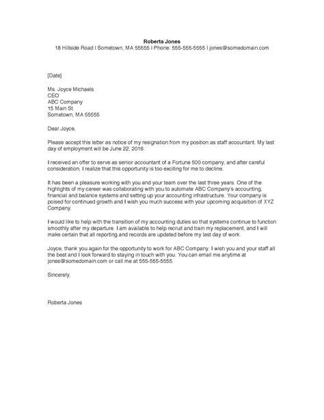 Resignation Letter Self Employment Self Employment Letter Sample Letters