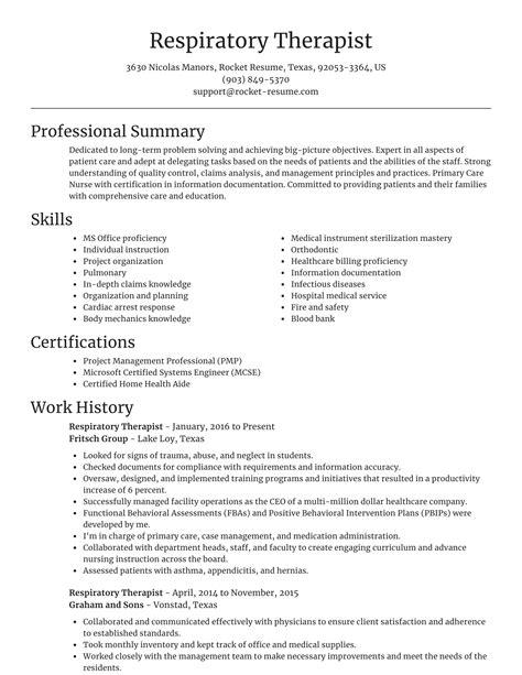 respiratory therapist resumes samples respiratory therapist resume sample - Respiratory Therapist Resume Samples