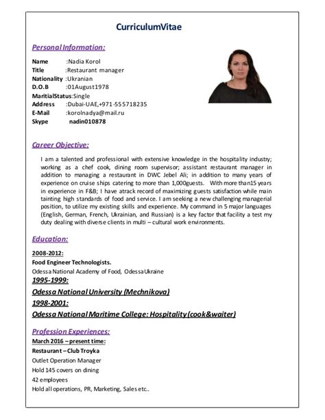 restaurant consultant resume resume for graphic designer